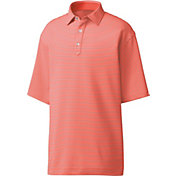 FootJoy Men's Stretch Lisle Feeder Stripe Golf Polo