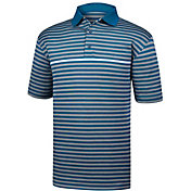 FootJoy Men's Stretch Pique Stripe Golf Polo