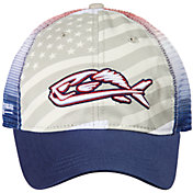 Field & Stream Fish Icon Americana Trucker Cap