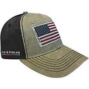 Field & Stream Men's Flag Applique Hat