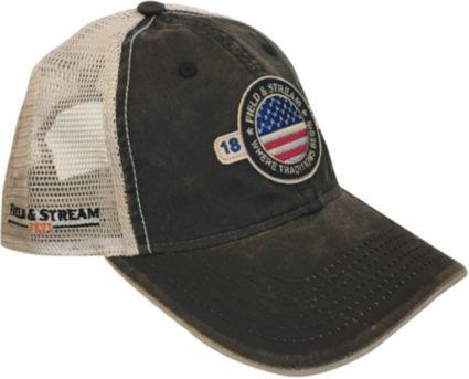 Field   Stream Men s Americana Patch Trucker Hat  5e2612a48807