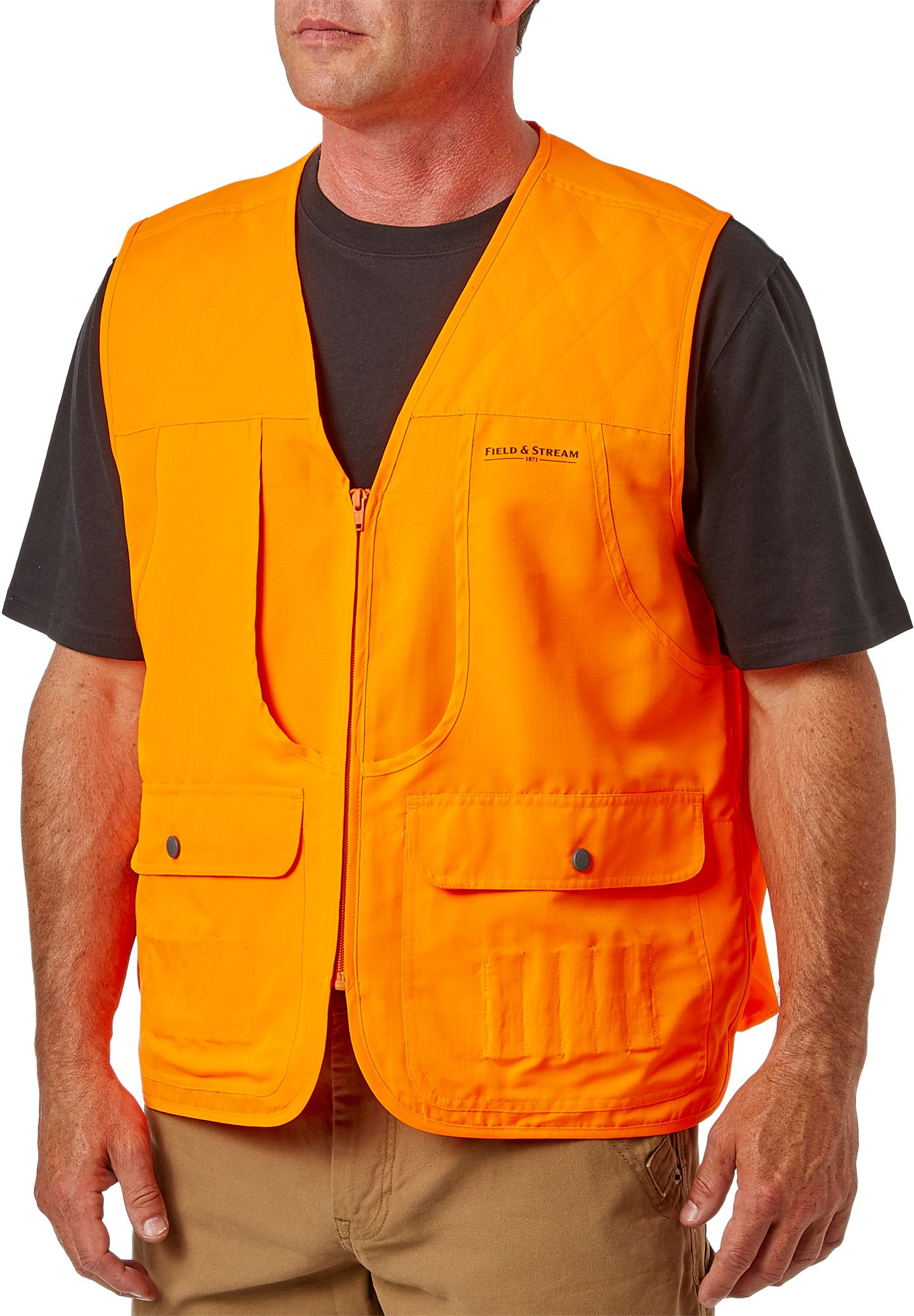 Field & Stream Men's Blaze Orange Front Loader Hunting Vest, Size: XXXL thumbnail
