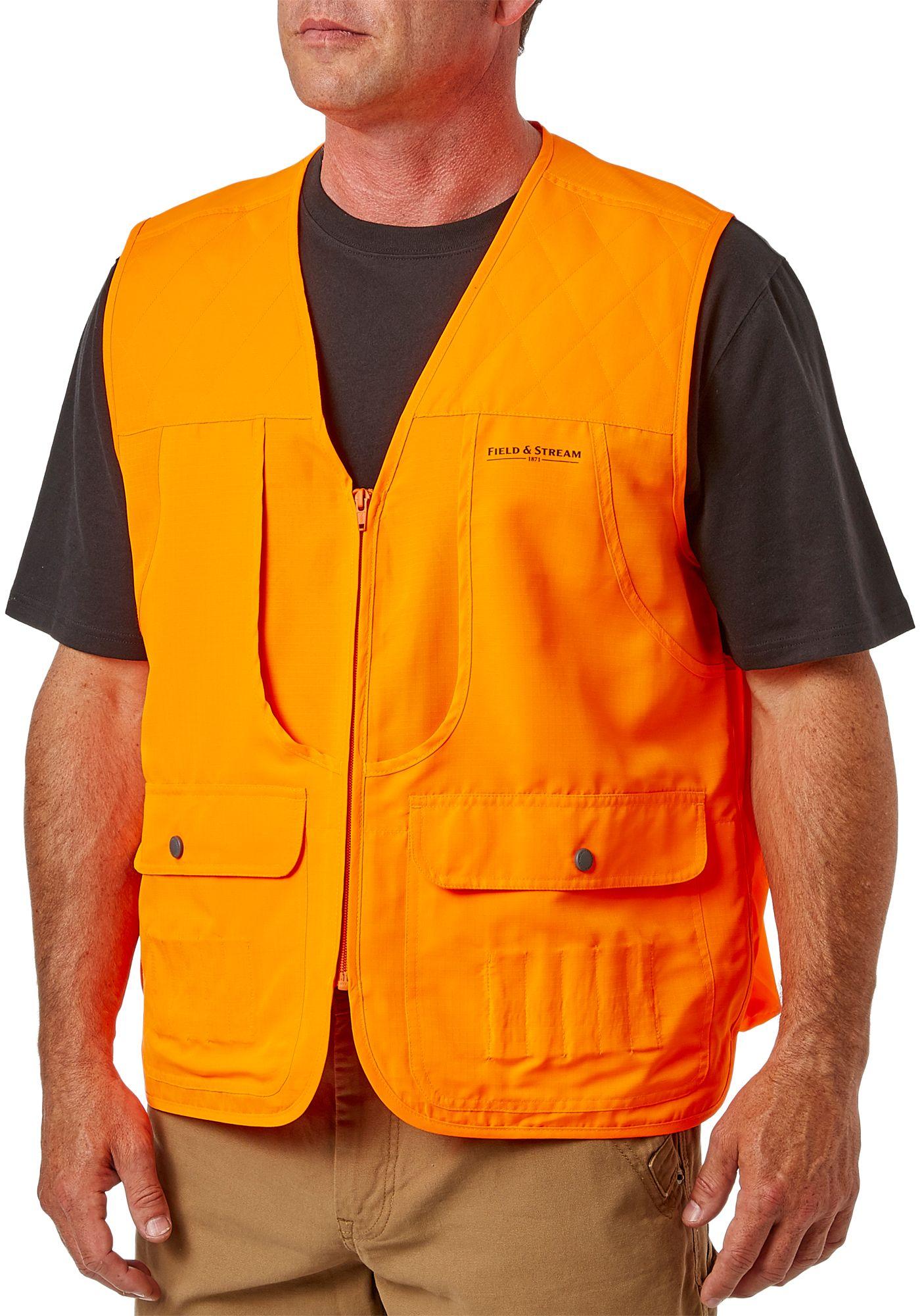 Field & Stream Men's Blaze Orange Front Loader Hunting Vest