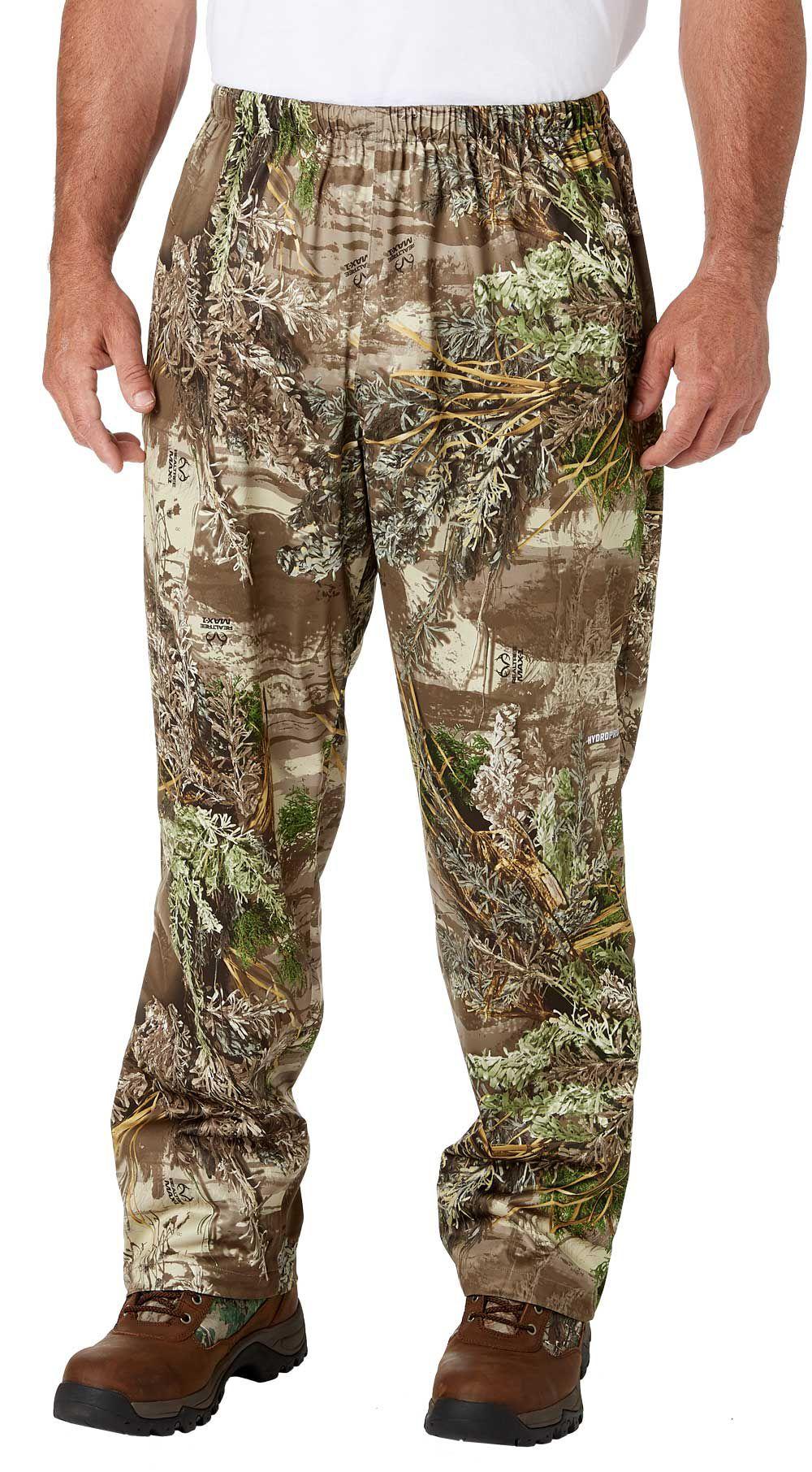 Field & Stream Lightweight Packable Rain Hunting Pants, Men's, Size: 4XL, Green thumbnail