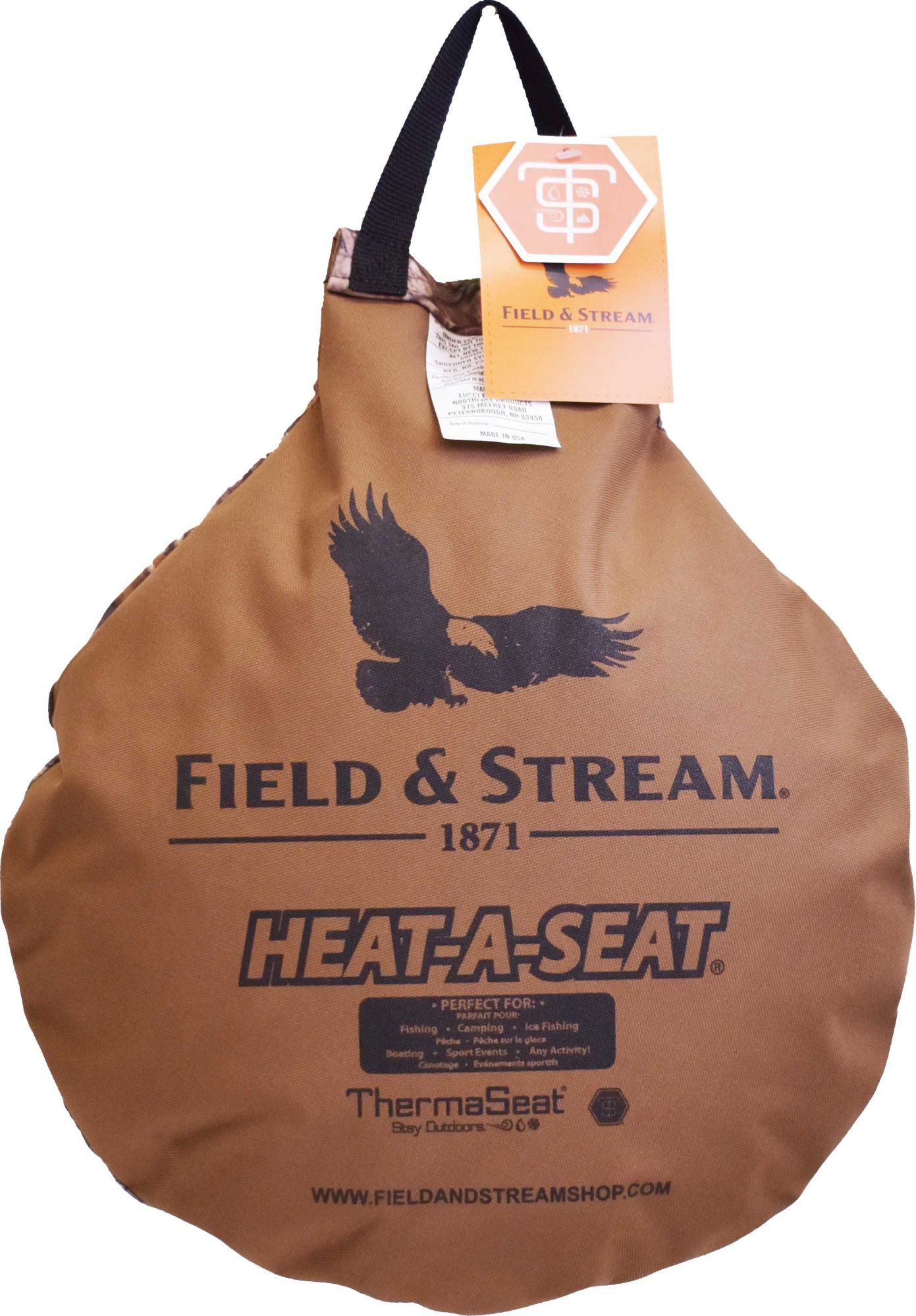 F&S Heat-A-Seat Hunting Cushion, Size: Small