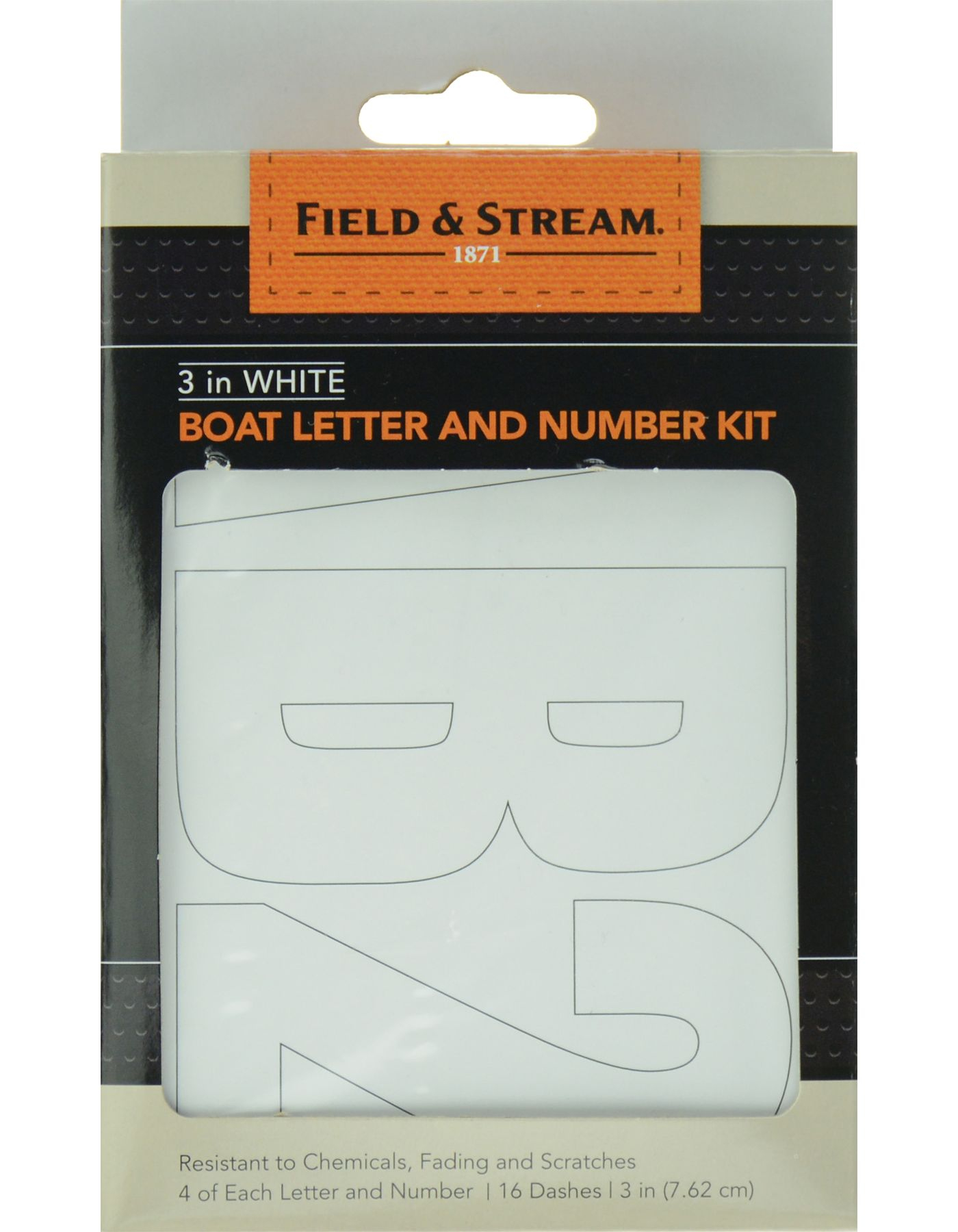 Field & Stream Boat Letter and Number Kit