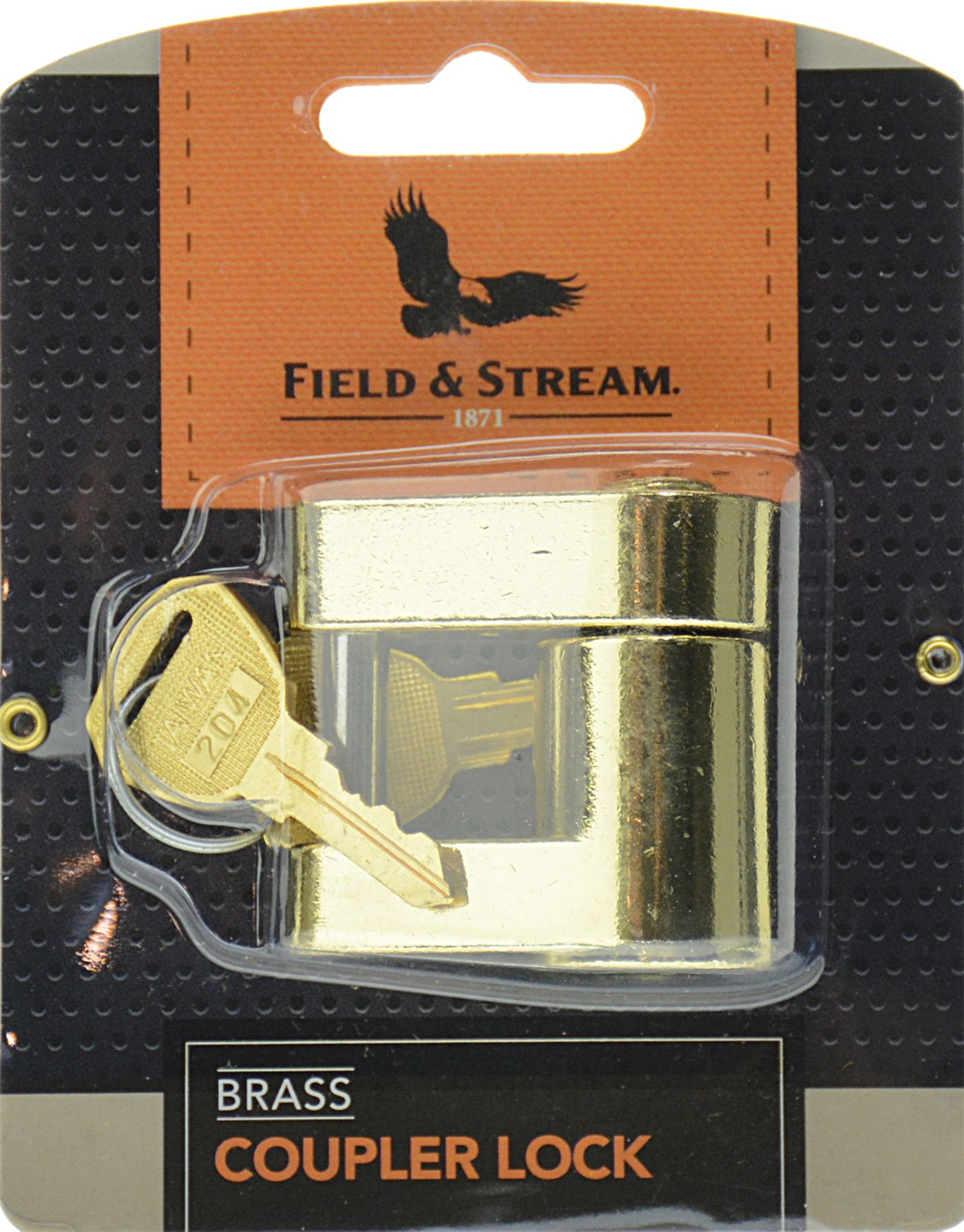 Field & Stream Brass Coupler Lock