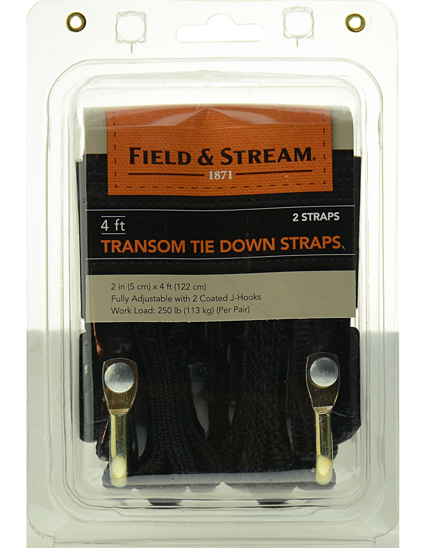 Field & Stream Transom Tie Down Straps