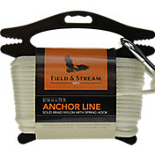Field & Stream Solid Braid Nylon Anchor Line with Spring Hook