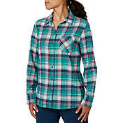 Field & Stream Women's Classic Lightweight Flannel Long Sleeve Shirt