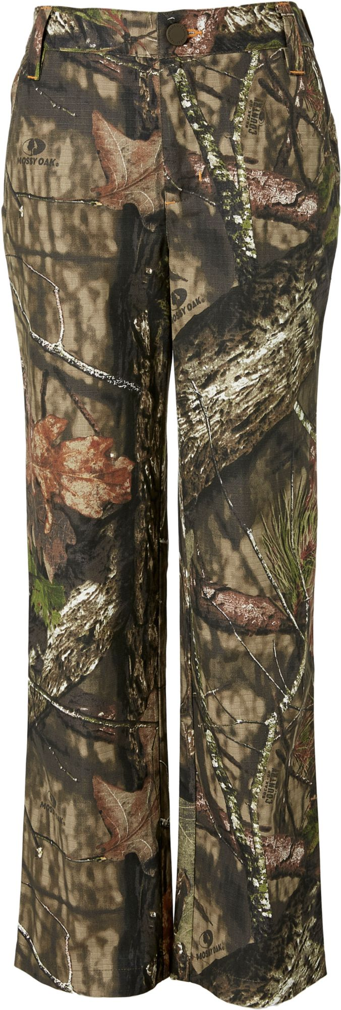 Field & Stream Youth Ripstop Camo Pants, Kids, XL, Mossy Oak Brk-up Country