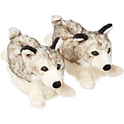 Field & Stream Kids Wolf Slippers
