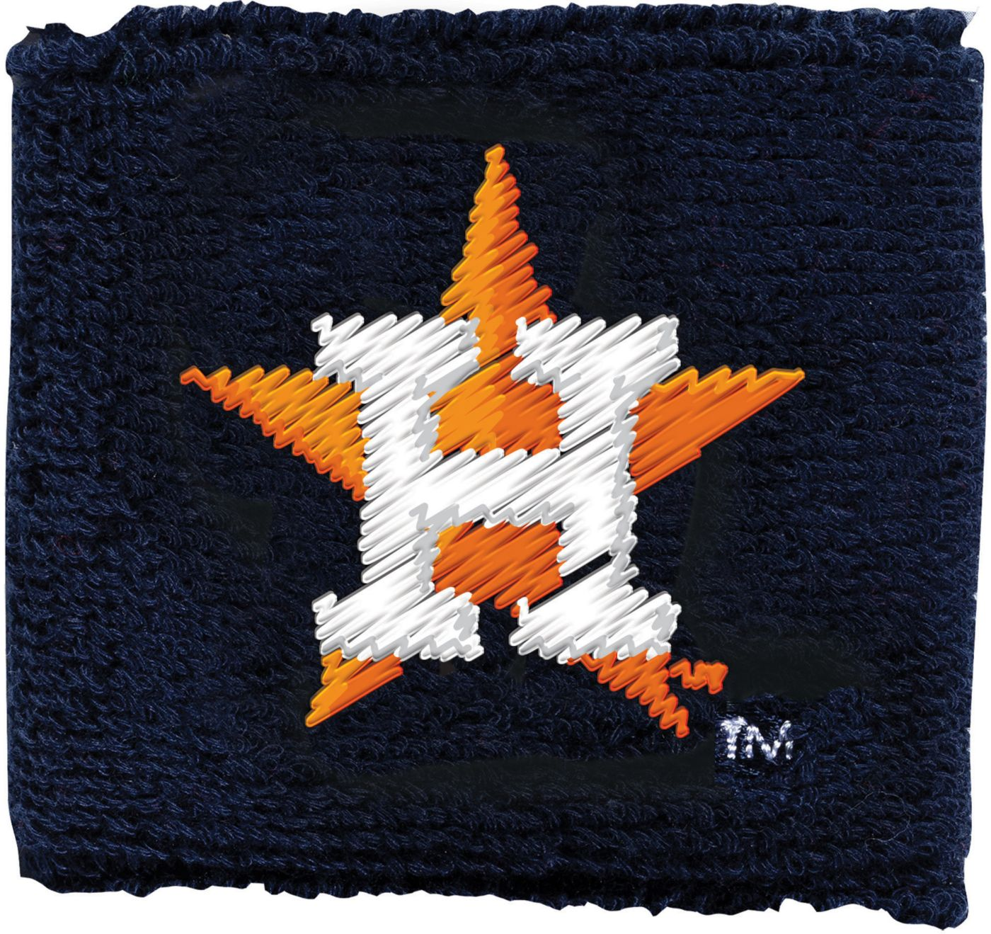 "Franklin Houston Astros Black 2.5"" Wristbands"