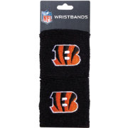 Franklin Cincinnati Bengals Embroidered Wristbands