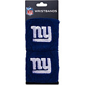 Franklin New York Giants Embroidered Wristbands