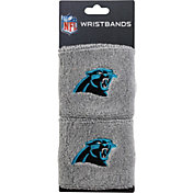 Franklin Carolina Panthers Embroidered Wristbands
