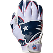 Franklin Youth New England Patriots Team Logo Receiver Gloves