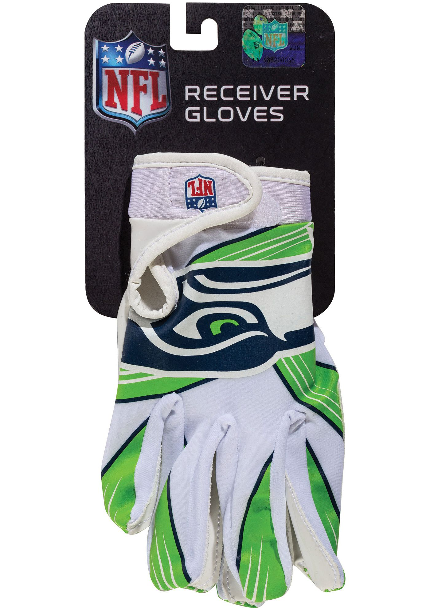 Franklin Youth Seattle Seahawks Team Logo Receiver Gloves