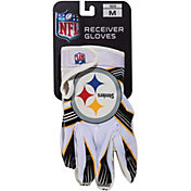 Franklin Youth Pittsburgh Steelers Team Logo Receiver Gloves