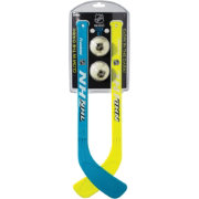 Franklin Glow in the Dark Mini Street Hockey Player Stick and Ball Set