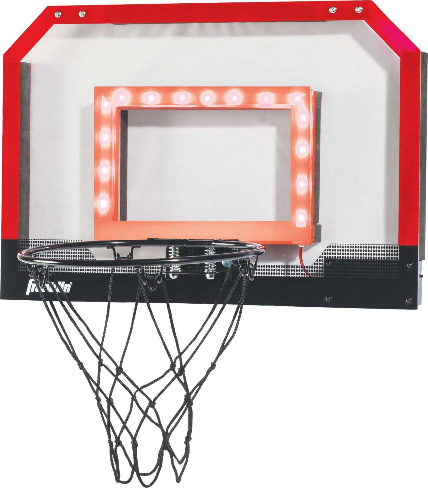 Franklin Sports Light Up Pro Hoops Mini Hoop