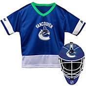 Franklin Vancouver Canucks Goalie Uniform Costume Set