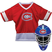 Franklin Montreal Canadiens Goalie Uniform Costume Set
