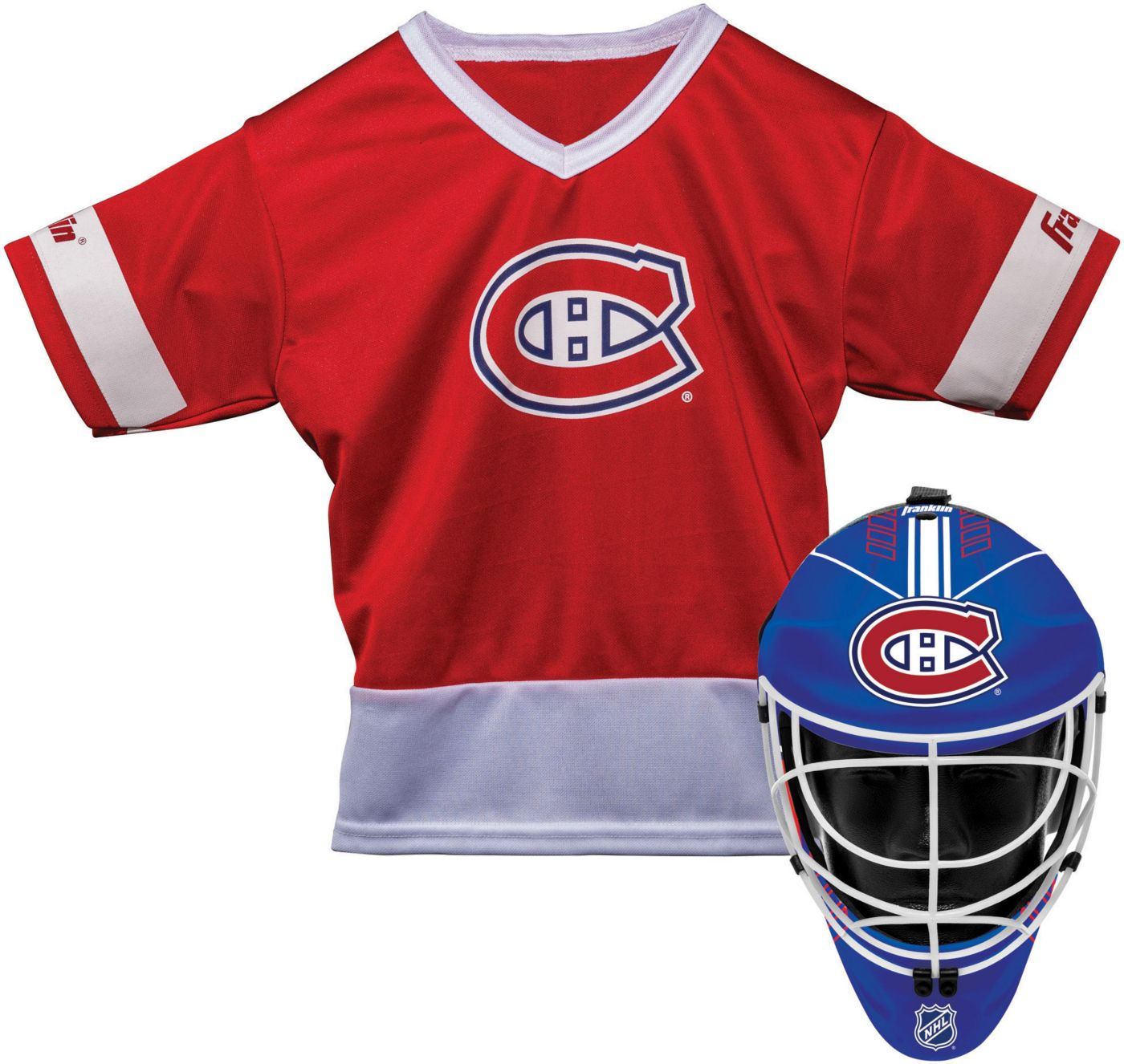 Franklin Montreal Canadiens Goalie Uniform Costume Set
