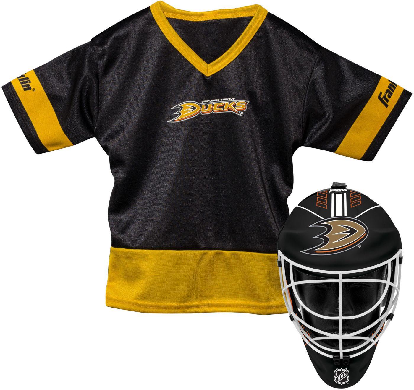 Franklin Anaheim Ducks Goalie Uniform Costume Set