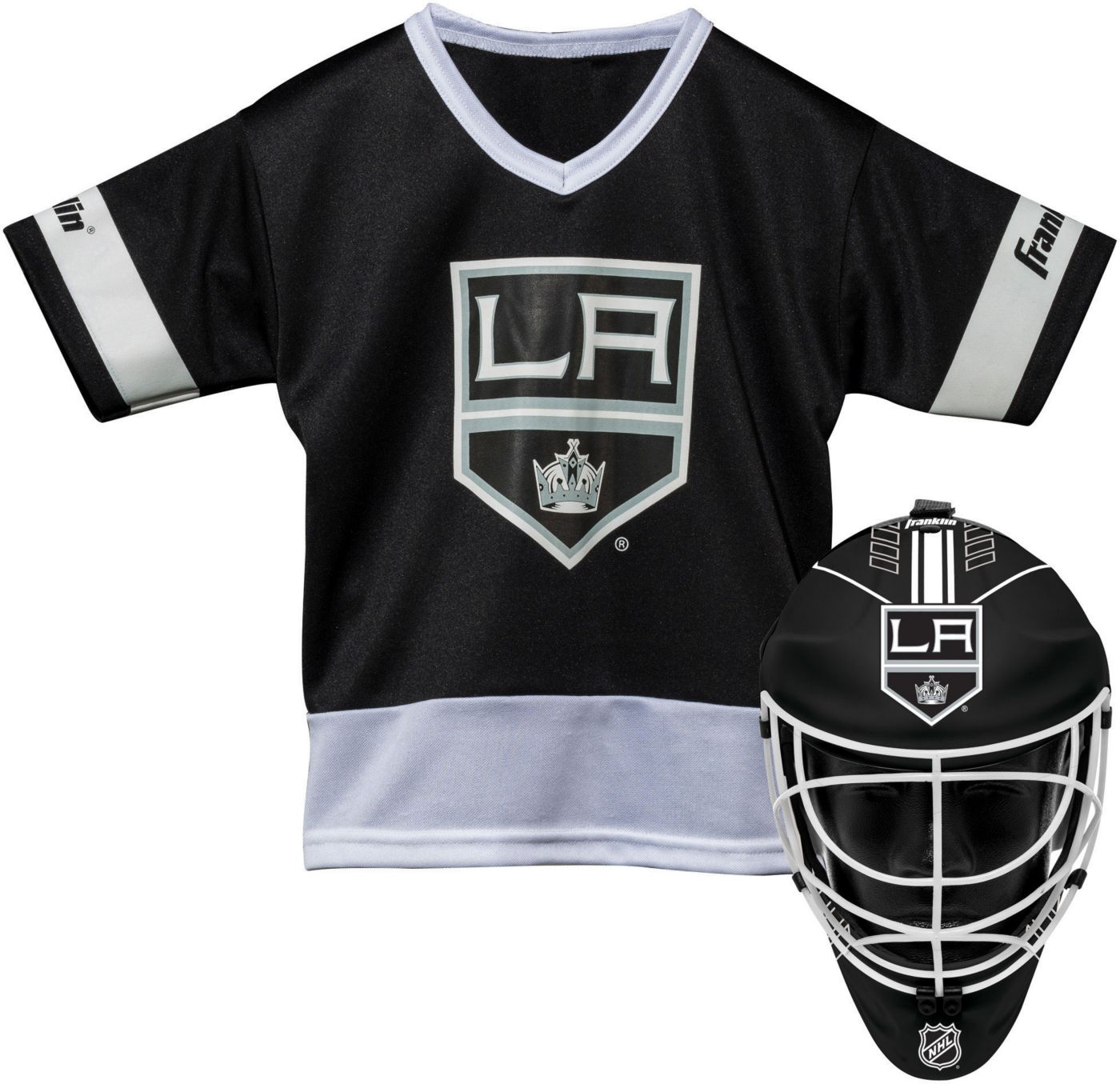 Franklin Los Angeles Kings Goalie Uniform Costume Set