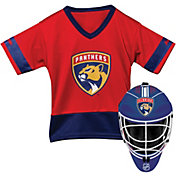 Franklin Florida Panthers Goalie Uniform Costume Set