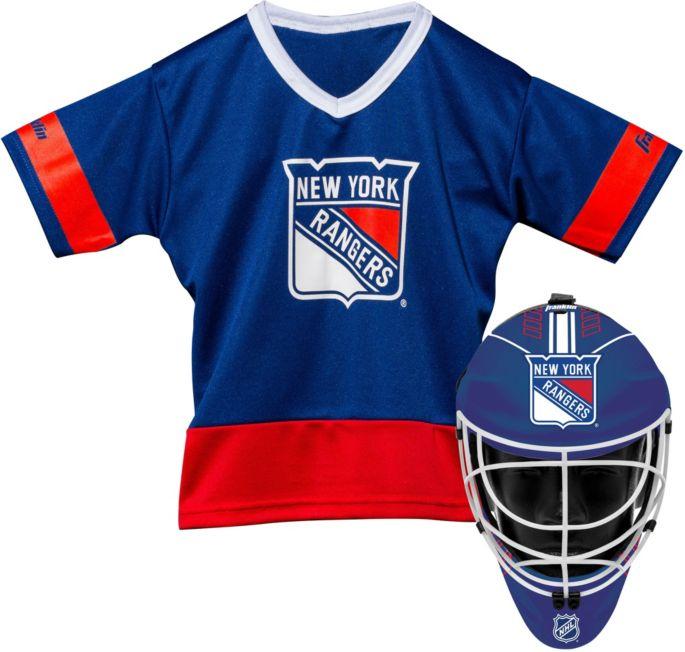 new concept 36ca5 8374a Franklin New York Rangers Kids' Goalie Costume Set