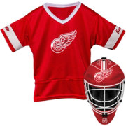 Franklin Detroit Redwings Kids' Goalie Costume Set
