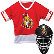 Franklin Ottawa Senators Goalie Uniform Costume Set