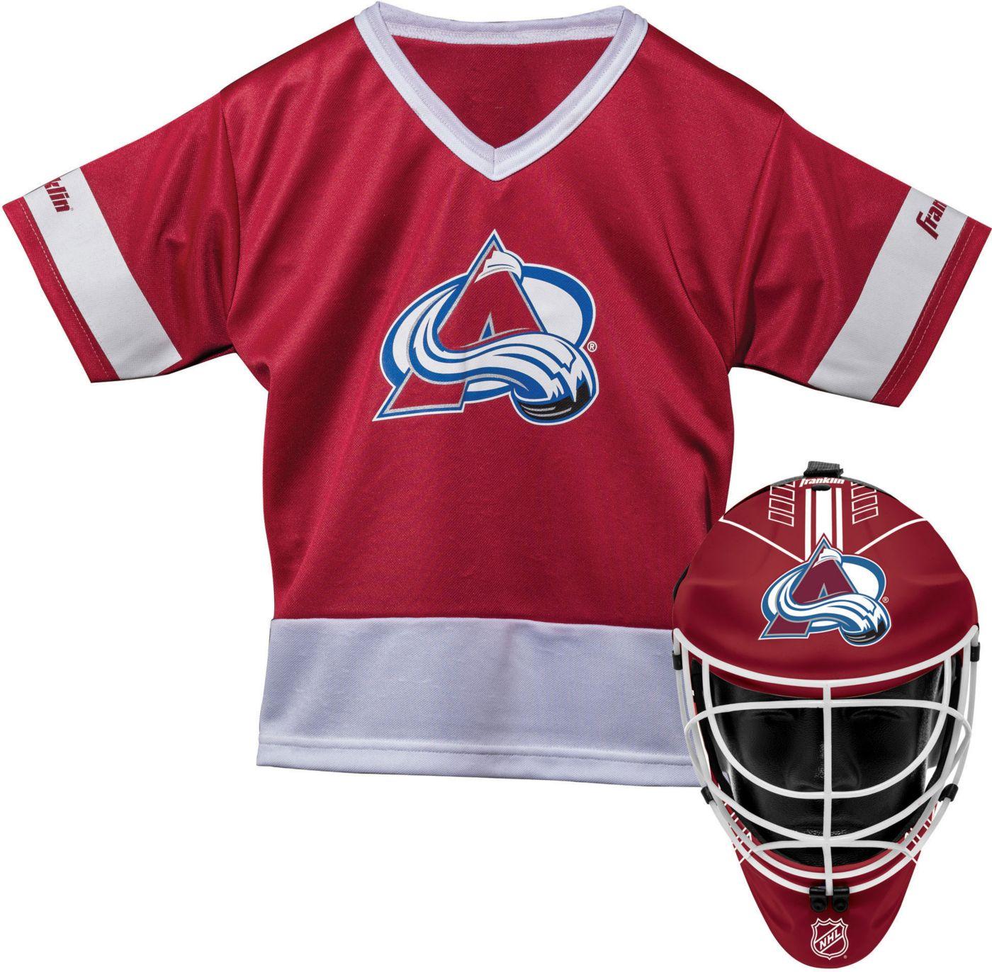 Franklin Colorado Avalanche Goalie Uniform Costume Set