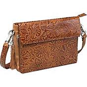 Gun Tote'n Mamas Tooled American Cowhide Concealed Carry Handbag