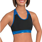 GK Elite Women's Mesh Racerback Cheerleading Crop Top
