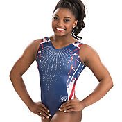 GK Elite Women's Simone Biles Signature Firecracker Gymnastics Leotard