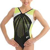 GK Elite Youth Black Pearl Gymnastics Leotard