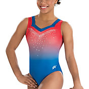 GK Elite Youth Lady Liberty Gymnastics Tank Leotard