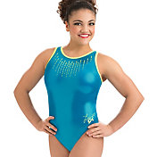 GK Elite Youth Laurie Hernandez Glo Girl Gymnastics Leotard