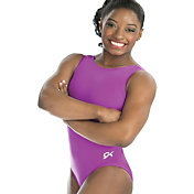 GK Elite Youth Scoop Back Gymnastics Tank Leotard