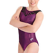 GK Elite Youth Zig-Zag Stunner Gymnastics Tank Leotard