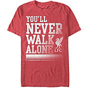 Fifth Sun Men's Liverpool Never Walk Alone Red T-Shirt