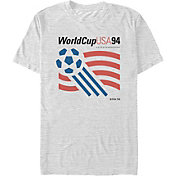 Fifth Sun Men's USA 1994 World Cup Logo Grey T-Shirt