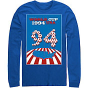 Fifth Sun Men's USA 1994 World Cup Poster Royal Long Sleeve Shirt