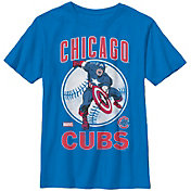 Fifth Sun Youth Chicago Cubs Marvel Comics 'Captain America' Royal T-Shirt