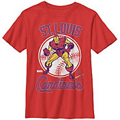 Fifth Sun Youth St. Louis Cardinals Marvel Comics 'Ironman' Red T-Shirt