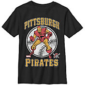 Fifth Sun Youth Pittsburgh Pirates Marvel Comics 'Ironman' Black T-Shirt