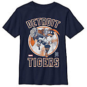Fifth Sun Youth Detroit Tigers Marvel Comics 'Thor' Navy T-Shirt